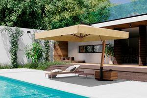 Vespucci, Sonnenschirm mit Seitenarm aus Holz