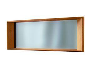 '900 5415, Spiegel mit geschnitztem Holzrahmen