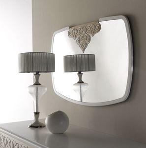 AN 723 A, Spiegel mit weißem Rahmen