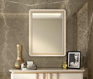 Art. 5612, Spiegel mit lackiertem Holzrahmen