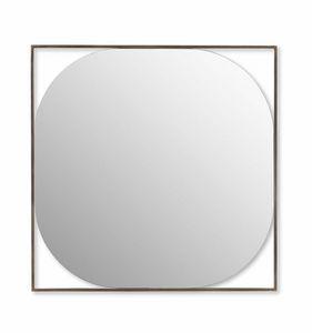 Circe Spiegel, Spiegel mit Stahlrahmen