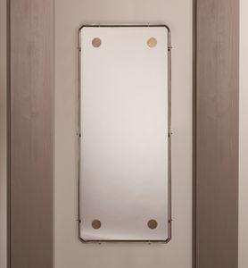 DOMINO HF2076MI, Rechteckiger Spiegel für Wohnzimmer