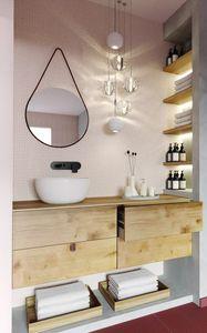 Goccia, Spiegel ideal für moderne Umgebungen