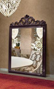 Gold Art. 4625, Großer Spiegel mit geschnitztem Rahmen