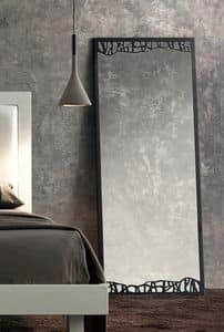 Green Hohe Spiegel , Spiegel im Epochenstil mit dünnen Metallrahmen