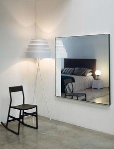 Leggero 116N, Spiegel mit Aluminiumprofil
