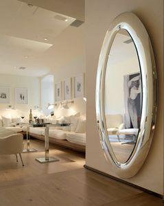 Mind 389, Ovaler Spiegel mit abgerundetem Rahmen