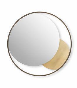 Oasi Spiegel, Dekorativer runder Spiegel