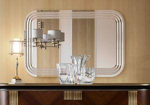 Oliver Art. OL03/S, Naturspiegel mit radialen Einschnitten