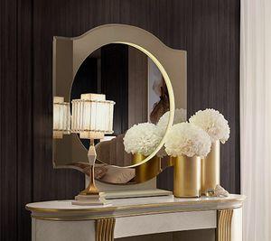 Oliver Art. OL80/S, Runder Spiegel für Schlafzimmer