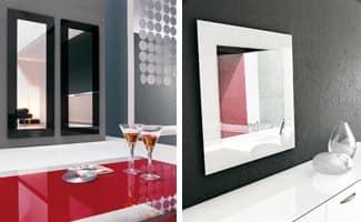 TOSHIMA, Wandspiegel, verschiedenen Ausführungen für den Siebdruck