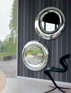Yume 390, Moderne runde Spiegel