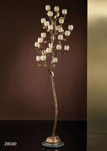 Art. 28040 Fior di Loto, Stehlampe in Italien von Hand gefertigt