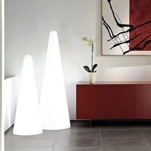 Moderne Stehleuchte Pyramide Design Slide Cono LP COF, Kegelförmige Stehlampe