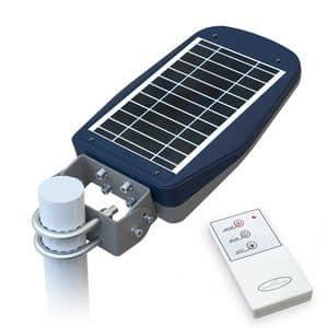 Sonnenenergie-Straßenlaterne mit Fernsteuerungs – LS030LED, Straßenlaterne mit Photovoltaikanlage, für Fußgängerzonen