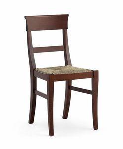 IMPERIALE, Rustikal Stuhl mit geflochtenem Stroh, für die Tavernen