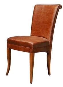 Colorado BR.0777, Klassische Stuhl mit gepolsterten Sitz und Rücken