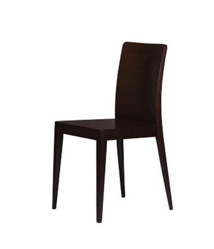 336 B, Design-Stuhl, in Eiche, für die moderne Küche