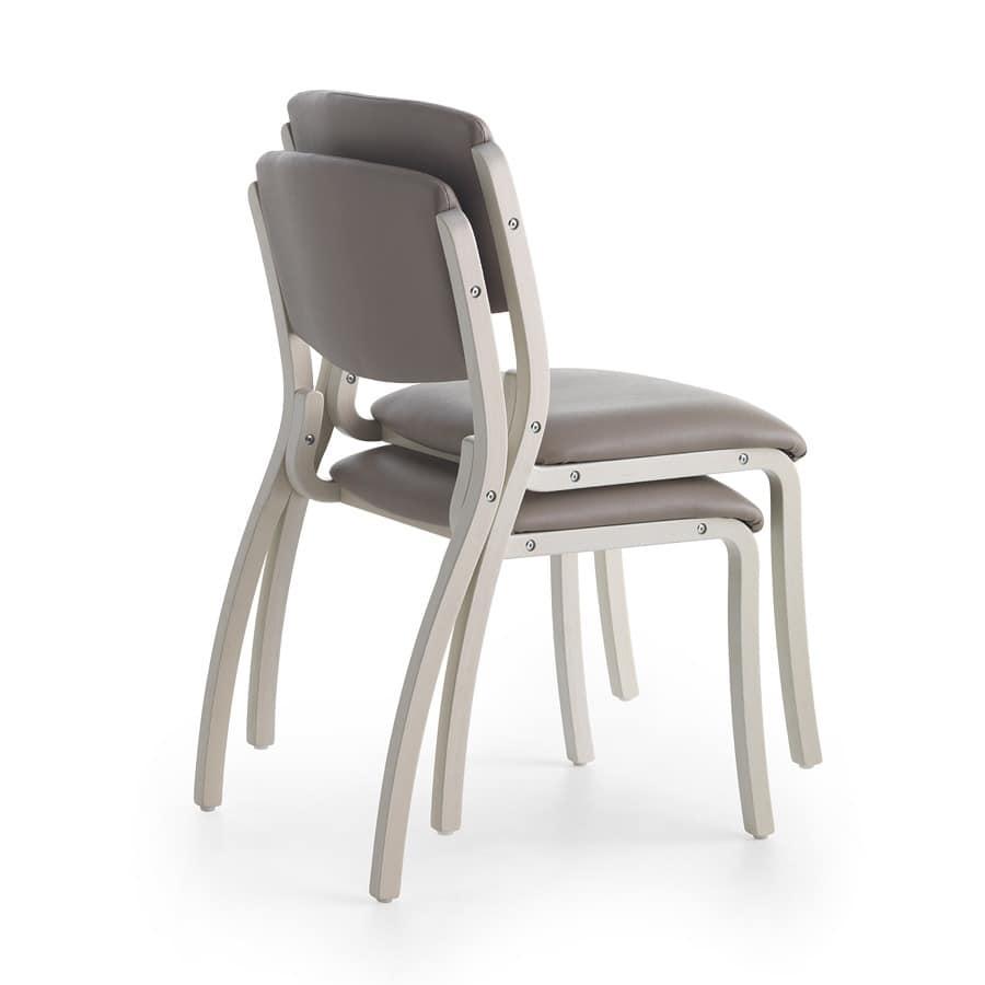 Silver Age 03 S, Bequemen Stuhl, handlich und robust, für Krankenhaus