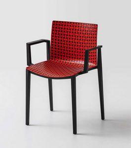 Clipperton Blend B, Stapelbarer Stuhl mit erhöhter Textur