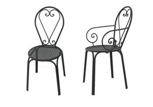 Ilary, Gartenstuhl aus Metall