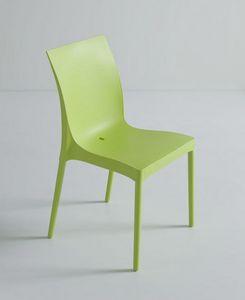 Iris, Extrem belastbarer Stuhl für den Außenbereich