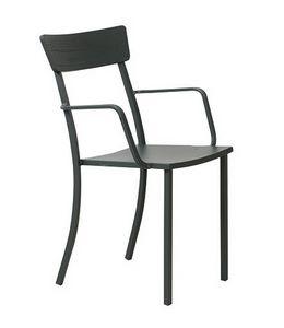 Mogan, Stuhl mit Armlehnen für den Garten