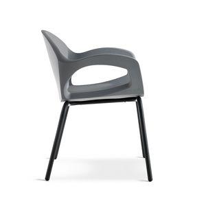 Pepper, Stapelbarer Stuhl für den Außenbereich