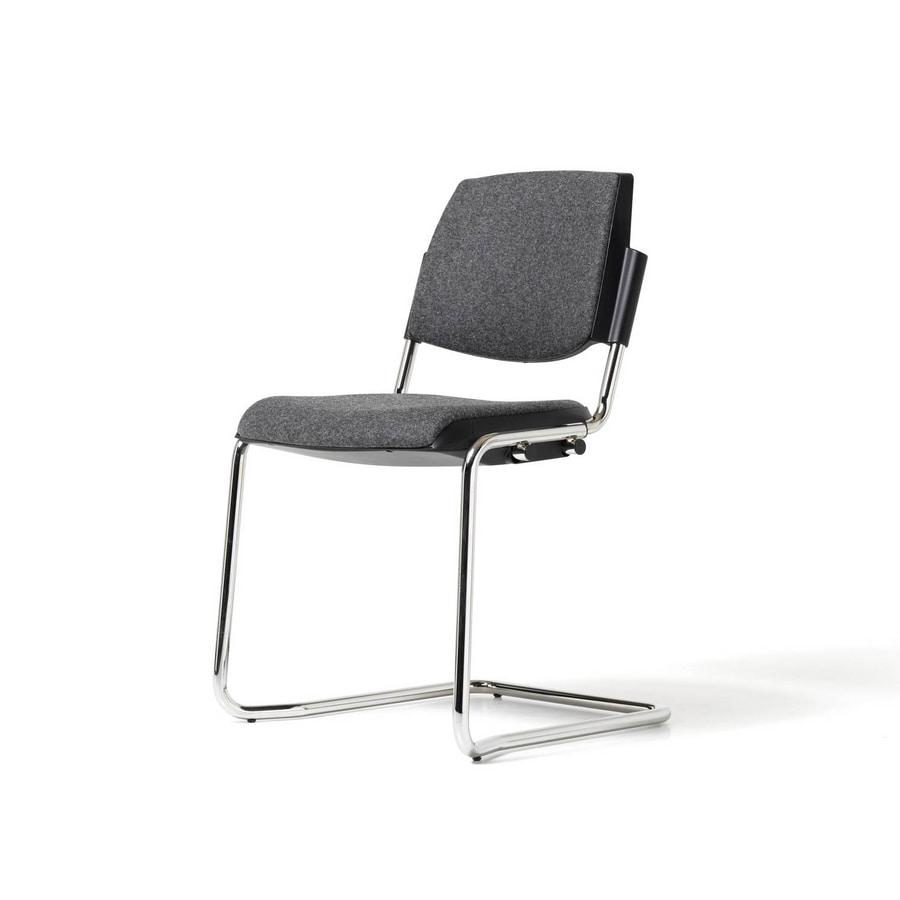 New Bonn, Stuhl mit freitragender Basis