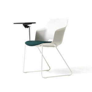 Clop Tablette, Stuhl mit Tablet für Besprechungsräume