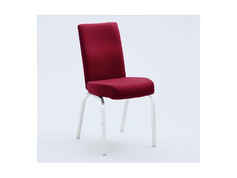 Vario-Allday 21/4, Polsterstuhl mit anatomischen Sitz und Rückenlehne flexibel