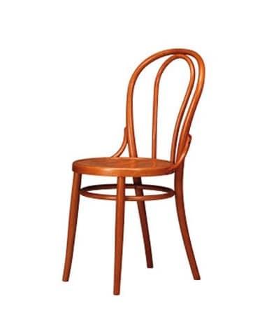 102, Stuhl mit alten Stil eingerichtet, in Buche, Wohnnutzung