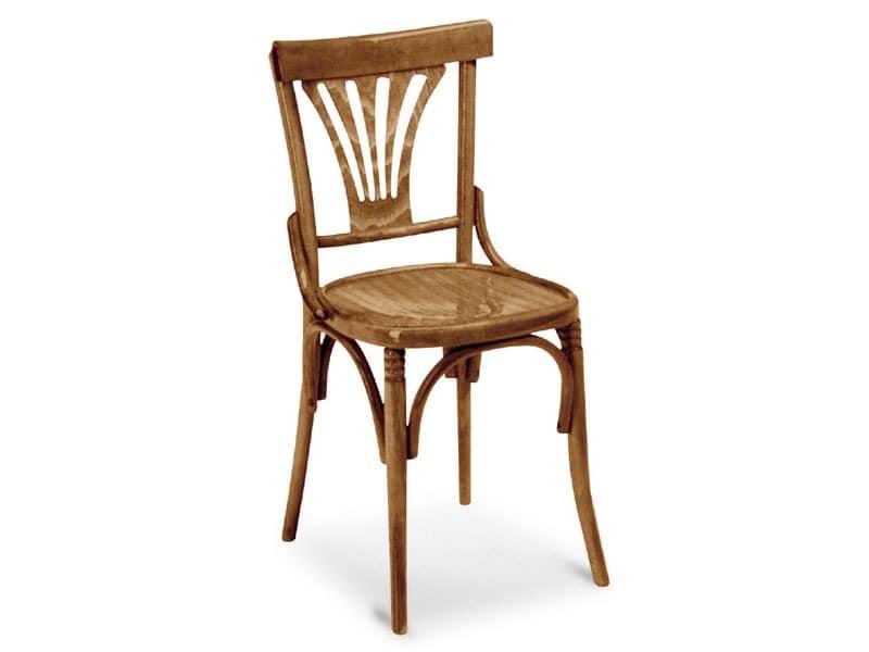 720, Schmiede Stuhl aus Holz für Bars und Pubs
