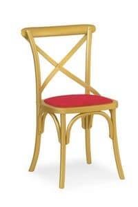 Ciao Imb, Stuhl aus massivem Holz, in verschiedenen Farben