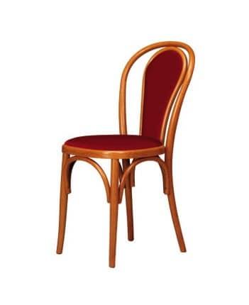 V03, Stuhl aus gebogenem Buchenholz, Wiener Stil