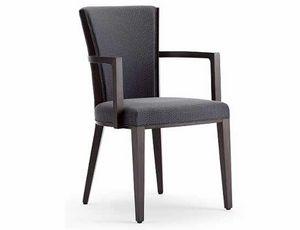Ada-P, Stuhl mit Armlehnen, gepolstert