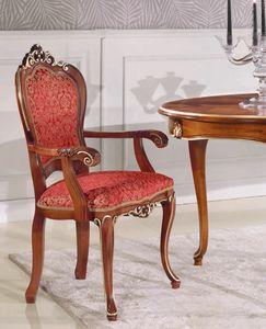 Art. 3030, Stuhl im klassischen Stil mit Armlehnen