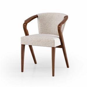 ART. 3448, Sessel aus Holz, gepolstert