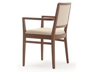 Godiva-P, Stuhl mit Armlehnen, für Restaurants und Bars