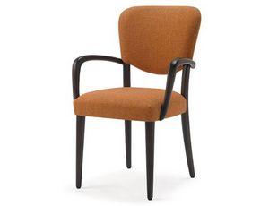 Mia-P, Stuhl mit Armlehnen, für Esszimmer
