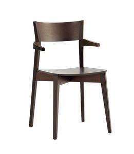 Miss P, Stuhl mit wesentlichen Linien