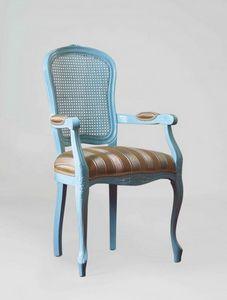 S19P, Stuhl mit Armlehnen, Rohrrücken