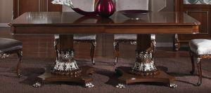 3625 TISCH, Ausziehbarer Holztisch, Outlet-Preis