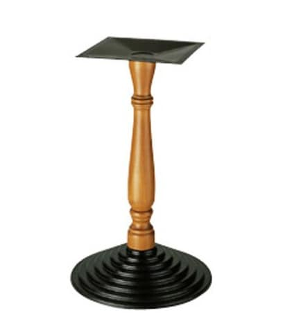 907, Unterstützung für Tabelle, Spalte in Holz bearbeitet, für Bars