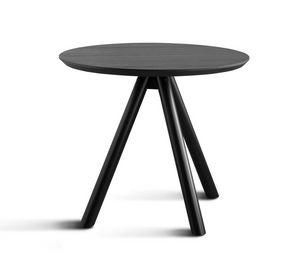 ART. 0098-3 CONTRACT, Tischgestell aus Holz, mit drei Beinen