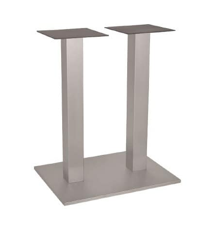 FT 060 Doppelständer, Basis für die Tabelle, in Metall, mit zwei Säulen, für Weinbar