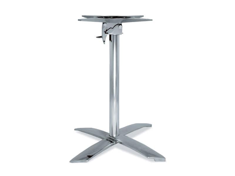 FT 710, Falten Basis für Tisch, aus Aluminium, für Kaffee-Bar