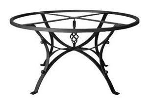 Hydra, Tischfuß aus verziertem Eisen