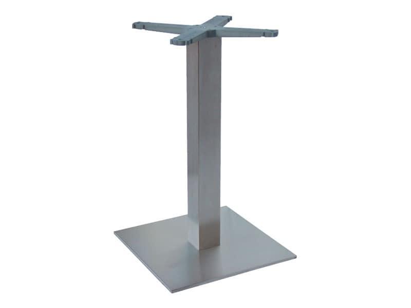 Indoor base cod. I45x45, Edelstahl Tischgestell für Eisdielen