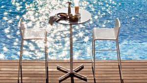 Summer set base 3, Basis für Stehtisch, kreuzförmige, für den Außenbereich